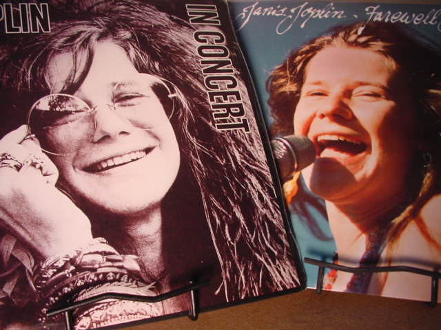 """Janis Joplin - Live In Concert (Double LP) & Farewell Song"" - Product Image"