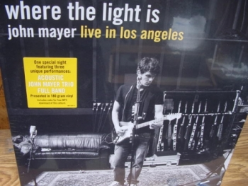 """John Mayer, Where The Light Is - 180 Gram Limited Edition 4 LP Set - Product Image"