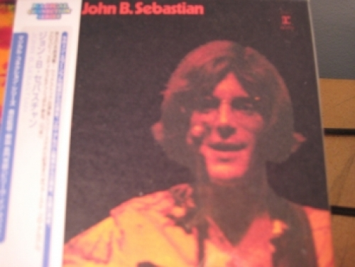 """John Sebastian, ST - OBI Mini LP Replica In A CD pressed in Japan"" - Product Image"