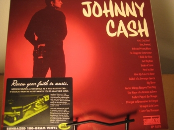 """Johnny Cash, Original Sun Siingles '55 - '58 Mono Recordings - Double LP - 180 Gram First Edition"" - Product Image"