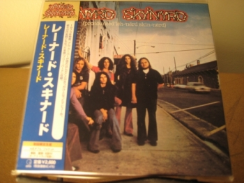 """LYNYRD SKYNYRD - PRONOUNCED' LEH-NERD-SKIN-NERD - OBI Mini LP Replica In A CD - Japanese"" - Product Image"