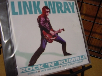 """Link Wray & The WrayMen - Rock N Rumble"" - Product Image"