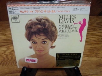 """Miles Davis, Someday My Prince Will Come - OBI Mini LP Replica In A CD - Japanese - Product Image"