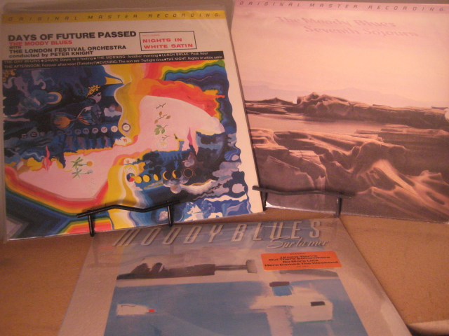 """Moody Blues, Days Of Future Passed & Seventh Sojourn - 2 MFSL LPs plus bonus of Sur La Mer"" - Product Image"