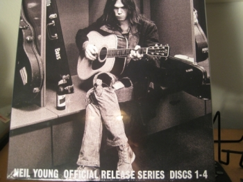 "Neil Young,  Official Release Series Discs 1-4 - 4 LP Box Set - 180 Gram - Limited Edition"" - Product Image"