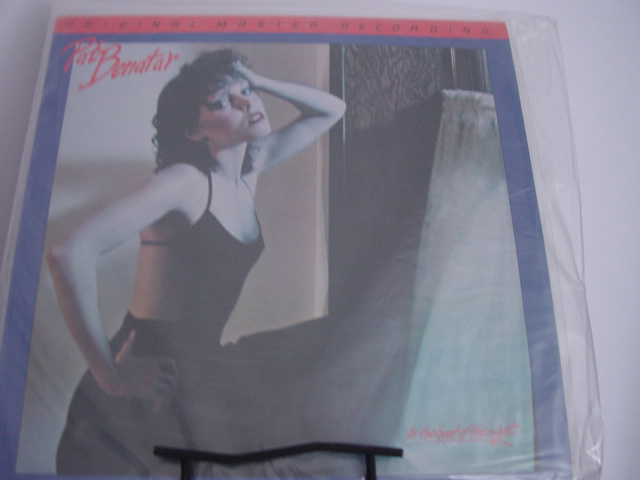 """Pat Benatar, In The Heat Of The Night - Factory Sealed MFSL - JVC Half-speed Pressing"" - Product Image"