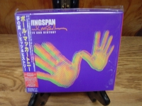 """Paul McCartney, Wingspan Hits and History -Double CD -  Japanese Pressing - holographic -  One Only"" - Product Image"