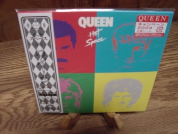 """Queen, Hot Space - OBI Mini LP Replica In a CD"" - Product Image"