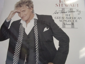 """Rod Stewart, As Time Goes By -- THE GREAT AMERICAN SONGBOOK VOLUME II "" - Product Image"