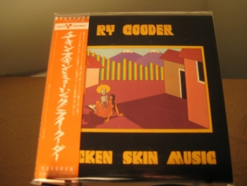 """Ry Cooder, Chicken Skin Music - OBI Mini Replica LP In A CD - Japanese"" - Product Image"
