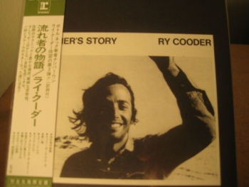 """Ry Cooder, Boomer's Story - OBI Mini Replica LP In A CD - Japanese"" - Product Image"