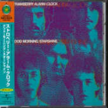 """Strawberry Alarm Clock, Good Morning Starshine - OBI Mini LP Replica In A CD - Japanese"" - Product Image"