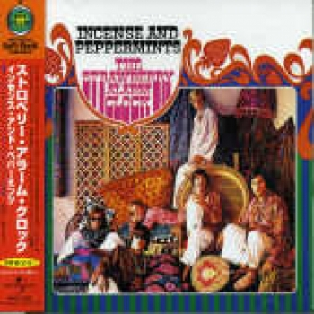 """Strawberry Alarm Clock, Incense and Peppermints - OBI Mini LP Replica In A CD - Japanese"" - Product Image"