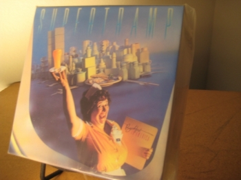"""Supertramp, Breakfast In America - Japanese OBI MINI REPLICA LP TITLES making a 10 CD Box Set"" - Product Image"