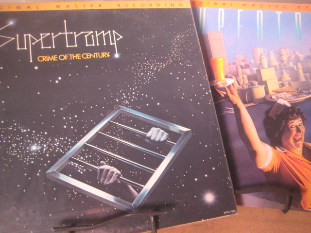 """Supertramp, Breakfast in America & Crime Of The Century - NEAR MINT PLUS MFSL JVC Viny - CURRENTLY SOLD OUTl"" - Product Image"