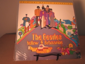 """The Beatles, Yellow Submarine - Factory Sealed MFSL JVC Half-speed Pressing"" - Product Image"