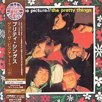"""The Pretty Things, Get The Picture - OBI Mini Replica LP In A CD - Japanese"" - Product Image"