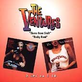 """The Ventures, Theme From Shaft & Rocky Road - 2 LPs in One CD"" - Product Image"