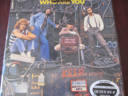 """The Who - WHO ARE YOU CLASSIC RECORDS OUT OF PRINT Audiophile Sealed 200 GRAM LP"" - Product Image"