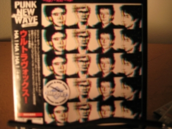"""Ultravox, HA! HA! HA! - OBI Mini Replica LP In A CD - Japanese"" - Product Image"