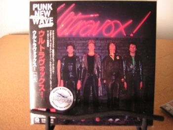 """Ultravox, ST - OBI Mini LP Replica In A CD - Japanese"" - Product Image"