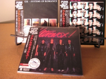 """Ultravox, Set of 3 OBI Mini Replica LP In A CD - ST, Ha!Ha!Ha! & Systems of Romance"" - Product Image"