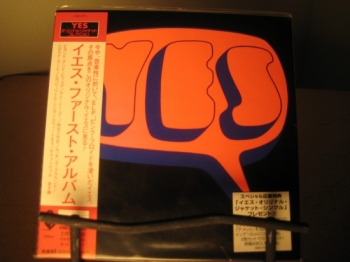 """Yes, Self-Titled - Mini LP Replica In A CD - Japanese"" - Product Image"
