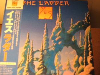 """Yes, The Ladder - Mini LP Replica In A CD - Japanese"" - Product Image"