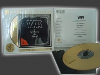 """War, Deliver the Word - Factory Sealed 24-Karat Gold CD"" - Product Image"
