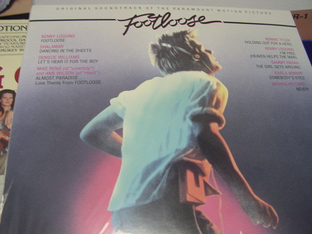 """Footloose, Original Soundtrack"" - Product Image"