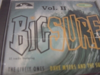 """""""Big Surf Hits Vol. II, The Lively Ones/ Centurions/ Sentinals (32 Tracks)"""" - Product Image"""