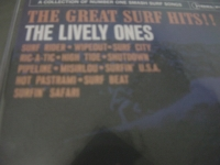 """The Lively Ones, The Greatest Surf Hits"" - Product Image"