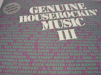 """Genuine Houserockin' Music, Various Blues Artists"" - Product Image"