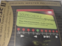 """Alan Parsons Project, Soundcheck 2 - Factory Sealed MFSL Gold CD- CURRENTLY OUT OF STOCK"" - Product Image"