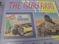 """""""Surfaris, Surfers Rule/ Gone With The Wave (2 LPs in 1 CD)"""" - Product Image"""