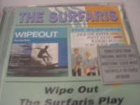 """The Surfaris, Wipeout &The Surfaris Play (2 LPs on 1 CD)"" - Product Image"