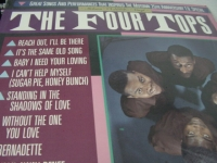 """""""The Four Tops, Great Songs & Performances (Hits, 10 #1 Songs)"""" - Product Image"""
