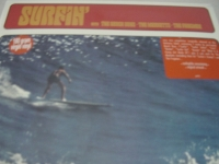 """""""The Beach Boys / Marketts, Surfin"""" - Product Image"""