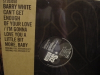 """Barry White, Can't Get Enough of Your Love & I'm Gonna Love You A Little Bit ore, Baby"" - Product Image"