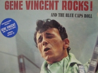"""Gene Vincent, Gene Vincent Rocks And The Blue Caps Roll"" - Product Image"