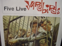 """The Yardbirds, Five Live - OUT OF STOCK"" - Product Image"