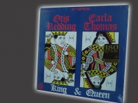 """Otis Redding & Carla Thomas, King & Queen 180 Gram - CURRENTLY SOLD OUT"" - Product Image"