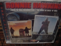 """""""Ronnie Hawkins, Rock N Roll Resurrection & The Giant Of Rock N Roll (2 LPs in 1 CD)"""" - Product Image"""