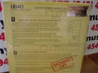 """UB40, Signing Off  - 180 Gram  - DOUBLE LP (last copies)"" - Product Image"