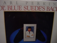 """""""Carl Perkins, Ol' Blue Suede's Back"""" - Product Image"""