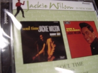 """""""Jackie Wilson, Soul Time & Soul Galore"""" (2 LPs in 1 CD) - Product Image"""