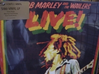 """""""Bob Marley & The Wailers, Live - 180 Gram - Simply Vinyl"""" - Product Image"""