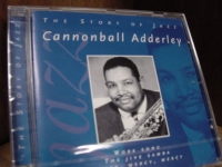 """Cannonball Adderley, The Story Of Jazz"" - Product Image"