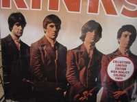 """""""The Kinks, S/T (Clear Vinyl)"""" - Product Image"""