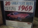 """20 Greatest Hits of 1969 (Various Artists)"" - Product Image"